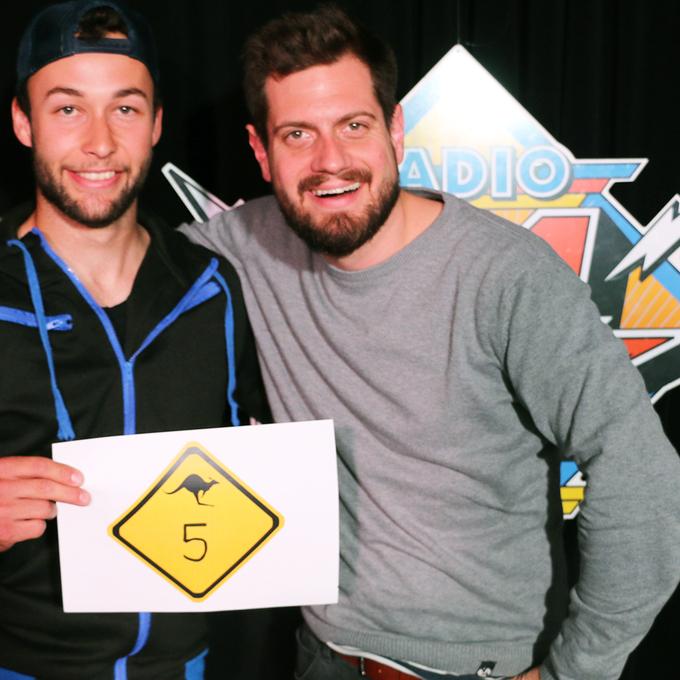 Lukas aus Einsiedeln holt wie Samira 5 Punkte im Australien-Quiz