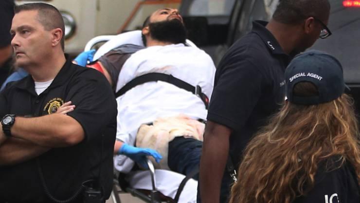 Rahami war direkt bei seiner Tat verhaftet worden. Nach dem einstimmigen Schuldspruch droht ihm eine lebenslange Haftstrafe.