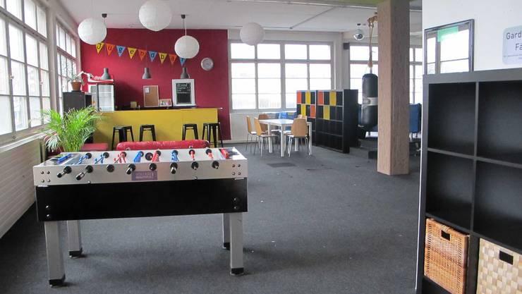 Der Jugendraum in Wohlen ist leer zurzeit.