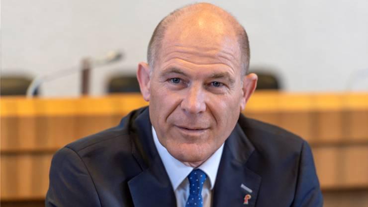CVP-Regierungsrat Anton Lauber
