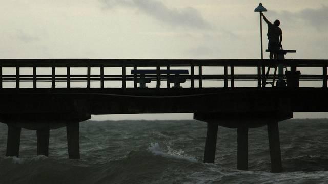 """Der Tropensturm """"Isaac"""" könnte auf die Küstengebiete Floridas treffen (Archiv)"""