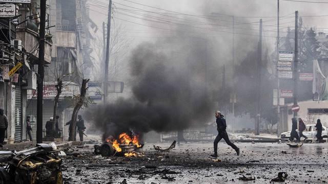 Der Bürgerkrieg zieht eine Spur der Verwüstung durch die syrische Stadt Aleppo (Archiv)