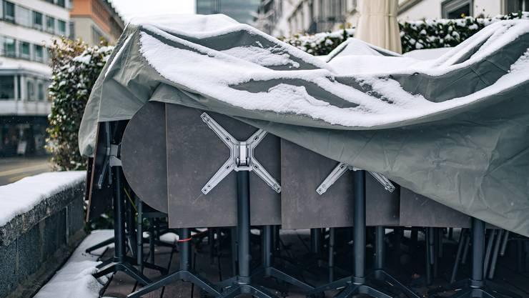 Die Restaurants bleiben wahrscheinlich bis Ende Februar geschlossen.