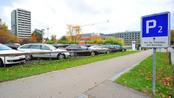 Neuer Anlauf für die Lösung des Parklplatzproblems beim Kantonsspital Olten.