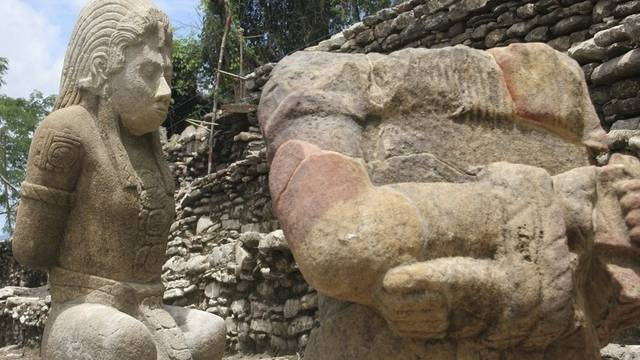 Maya-Skulpturen in Mexiko geben Aufschluss über Vergangenheit