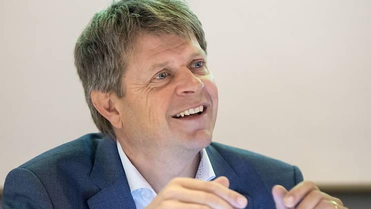 Will mit seiner Partei zur alten Stärke zurückfinden: Grünliberalen-Chef Jürg Grossen. (Archivbild)