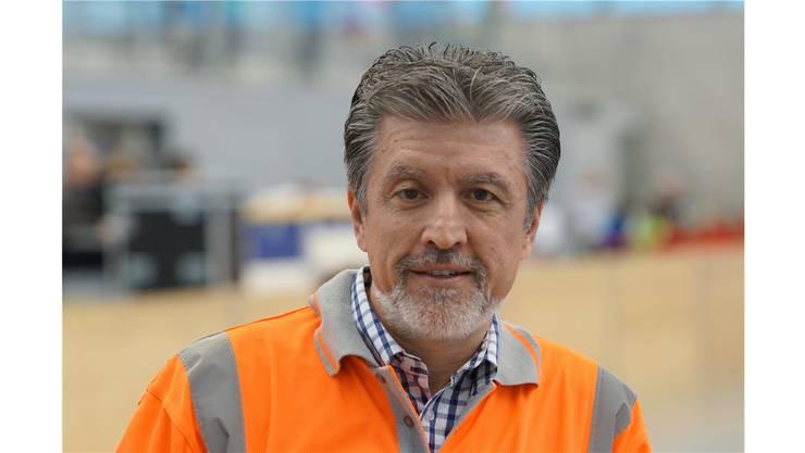 OK-Chef Vincenzo Vadrucci: «Die leuchtenden Augen der Kinder entschädigen für die grosse Arbeit des Vereins.»