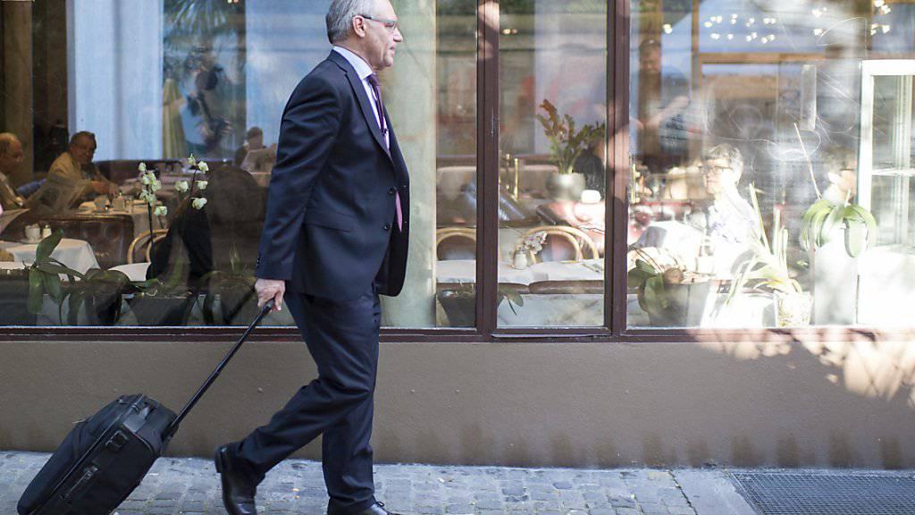 Rudolf Elmer hat das Urteil des Zürcher Obergerichts vom August 2016 ans Bundesgericht weitergezogen. (Archivbild)