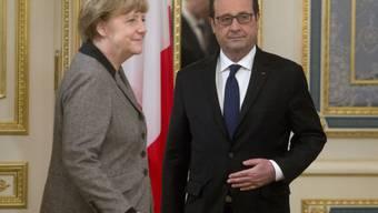 Merkel und Hollande bemühen sich um Vermittlung im Ukraine-Konflikt