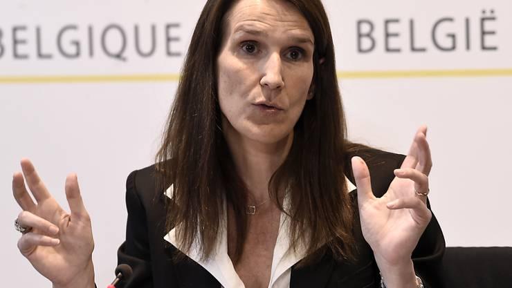 Die Premierministerin Belgiens Sophie Wilmès hat am Freitagabend die ersten Lockerungen im Mai für ihr Land vorgestellt. (Archivbild)