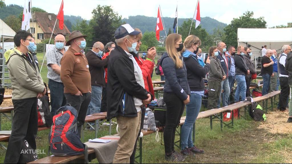 Corona-Test: Schwinger zeigen in Lenzburg, wie Grossanlässe trotz Pandemie möglich sind