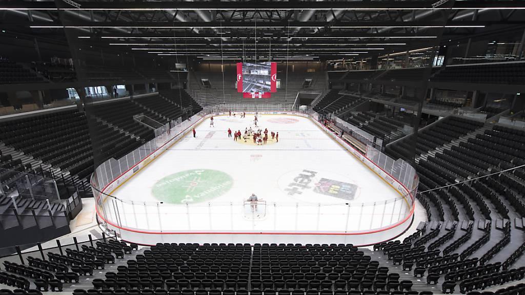 Lausanne weiht sein neues Eishockey-Stadion ein