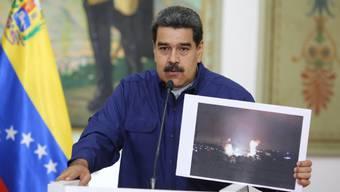 Der Staatschef Venezuelas, Nicolás Maduro, hat am Freitag (Ortszeit) weitere Sicherheitsmassnahmen für kritische Infrastruktur in seinem Land angekündigt.