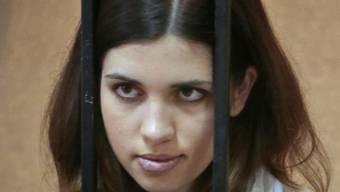 Nadeschda (deutsch: Hoffnung) Tolokonnikowa hinter Gittern