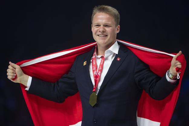 Gold für Daniel Gerber