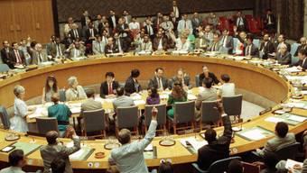 Die Schweiz fordert vom UNO-Sicherheitsrat fairere Bedingungen für Personen, die auf der Sanktionsliste landen (Archivbild).