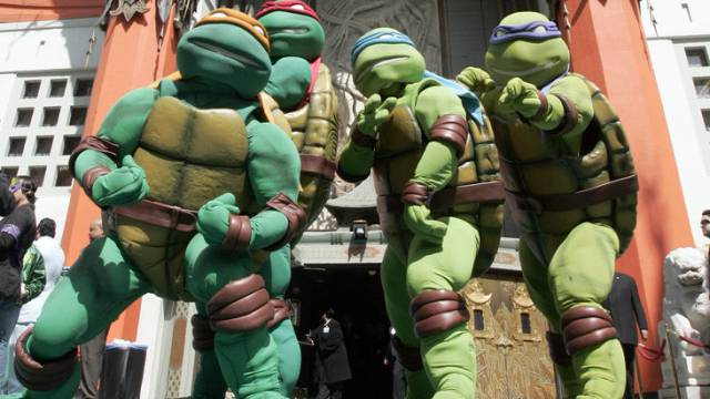 """Teenage Mutant Ninja Turtles"" bei der Premiere in Los Angeles"