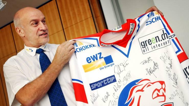 Schenk als Sportchef der ZSC Lions 2005.
