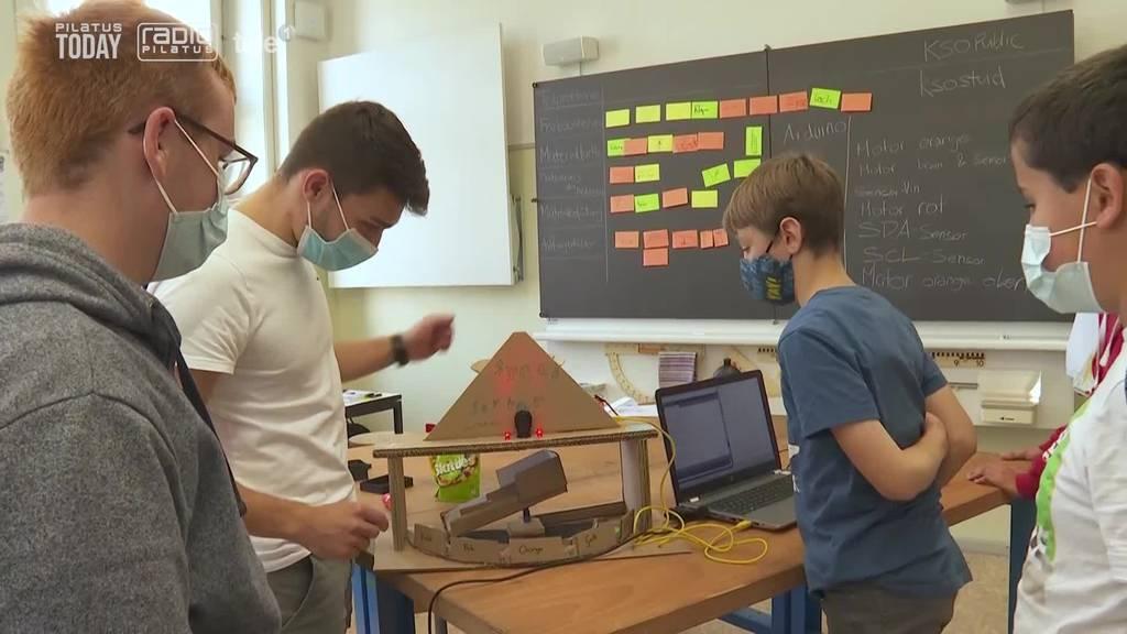 So begeistert man Obwaldner Kinder für technische Berufe