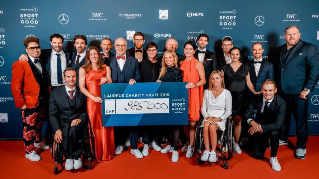 Laureus-Stiftung sammelt 1 Million Franken für sozialen Kindersport