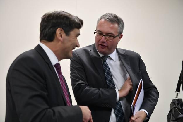 Francois Scheidegger und Remo Ankli