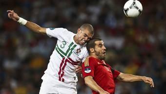 EM-Halbfinal zwischen Portugal und Spanien