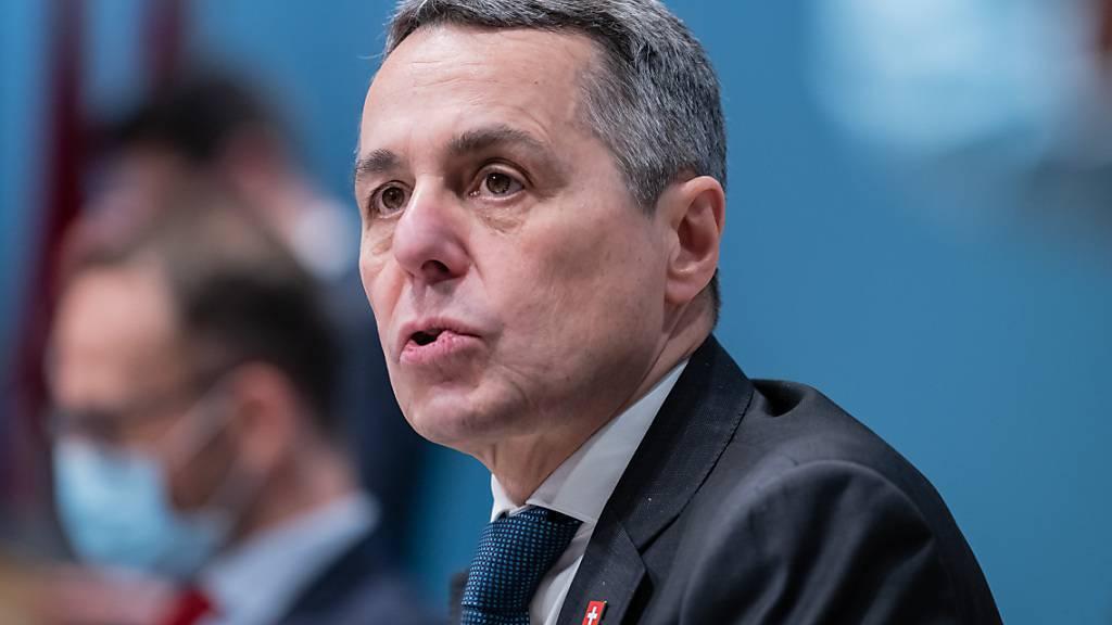 Cassis widerspricht Kritik an seiner Präsenz in der Corona-Pandemie
