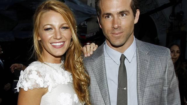 Sind jetzt Mann und Frau: Ryan Reynolds und Blake Lively (Archiv)