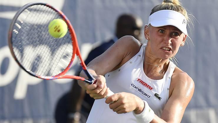Jil Teichmann scheiterte in Linz in der 2. Runde an der Italienerin Camila Giorgi