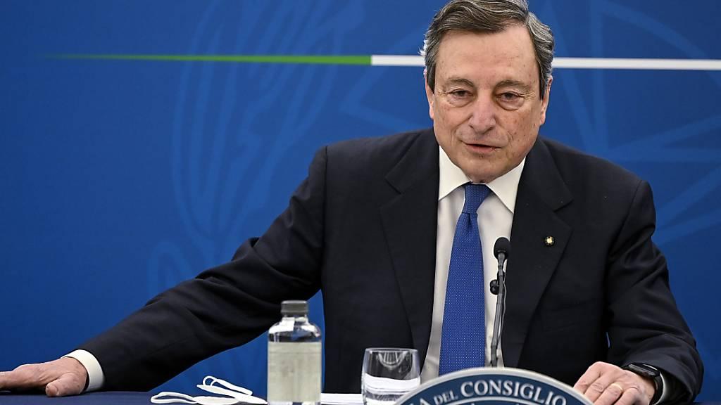 Spannungen nach Draghis Einstufung von Erdogan als «Diktator»