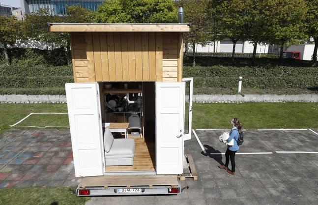 Ein Tiny House ist, wie der Name schon sagt, winzig. (Symbolbild)