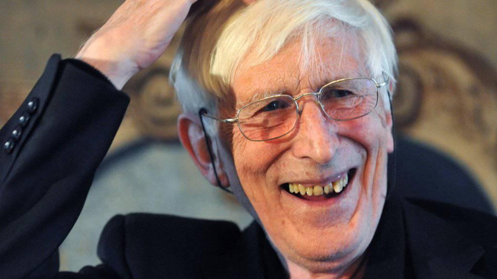 Der mit 87 Jahren verstorbene Zeichner Tomi Ungerer war auch als scharfzüngiger Autor bekannt. (Archivbild)