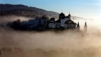 Das Jugendheim ist in der Festung hoch über Aarburg untergebracht.