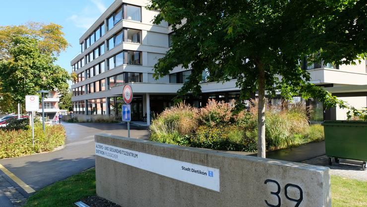 Die Sanierung und Erweiterung des Alters- und Gesundheitszentrums Ruggacker wurde 2012 fertiggestellt.