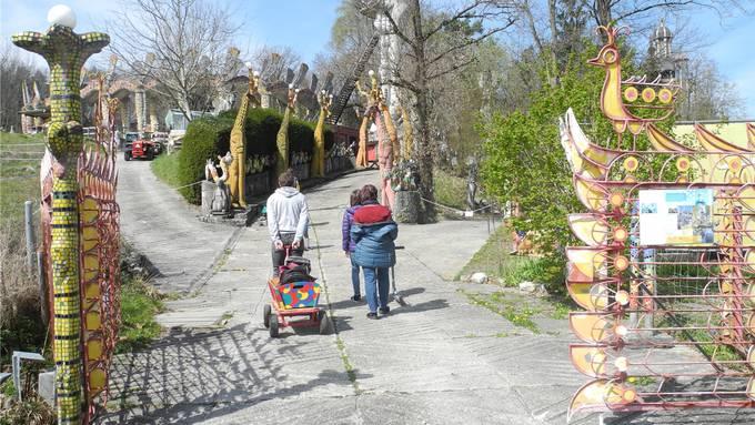 Der Bruno-Weber-Park bei Spreitenbach ist ein Ausflugsort mit internationaler Ausstrahlung. (Archivbild)