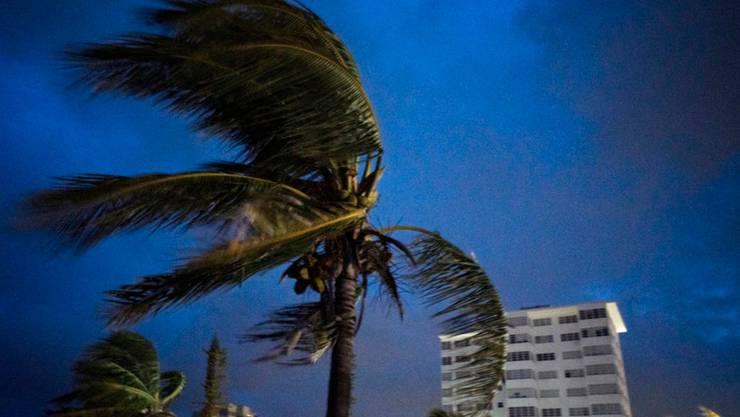 Der Hurrikan «Dorian» ist über den nördlichen Bahamas fast zum Stehen gekommen. Zerstörerische Winde mit Geschwindigkeiten von bis zu 270 Kilometer pro Stunde tobten am Montag über der Insel Grand Bahama.(Bild vom 1. September)