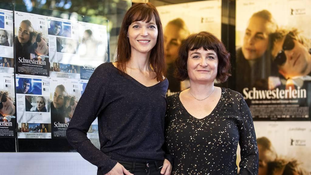 Konnten keinen Preis entgegennehmen: Regisseurinnen Veronique Reymond (l.) und Stephanie Chuat.