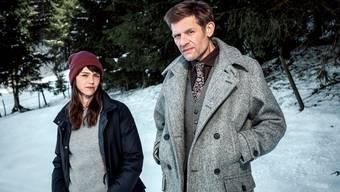 Zurück im Schnee: Rosa Wilder (Sarah Spale) und Manfred Kägi (Marcus Signer) jagen nun einen Serientäter.