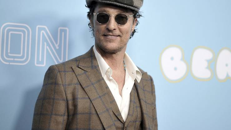 So kann ein Uni-Professor auch aussehen: US-Schauspieler Matthew McConaughey hat einen neuen Job an der University of Texas - er gibt Filmkurse.