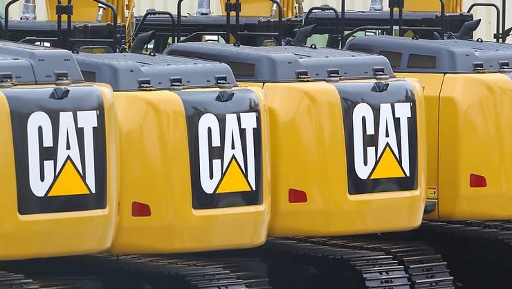 Der US-Baumaschinenhersteller Caterpillar hat im letzten Quartal des vergangenen Jahres weniger verdient als dies die Anleger erwartet haben. Das Geschäft in China leidet unter dem Handelsstreit.(Archivbild)
