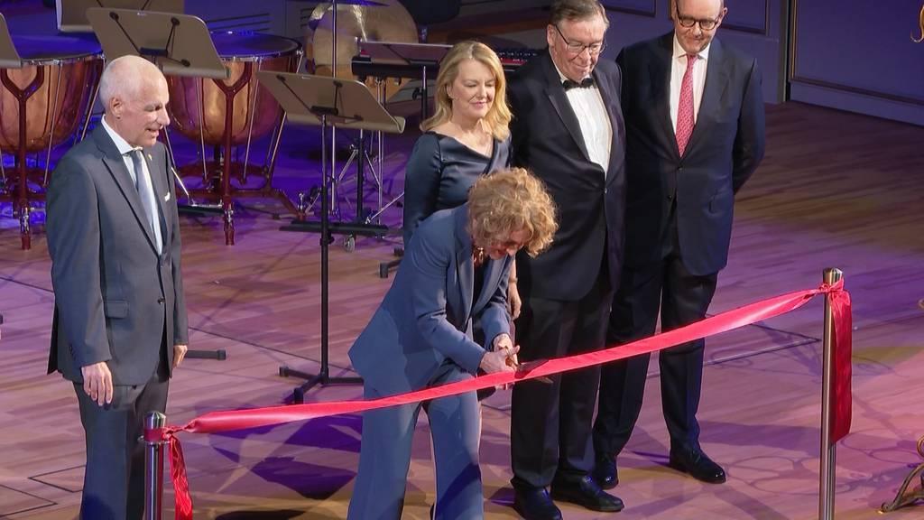 Eröffnung vom neuen Zürcher Kongresshaus und der Tonhalle