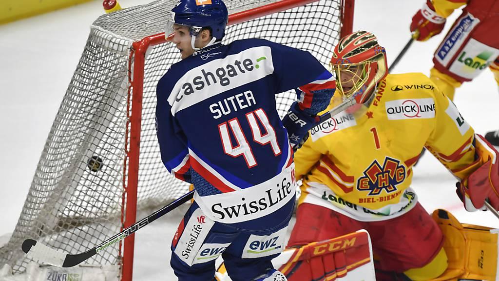 Anfangs dieser Saison in Topform: Pius Suter erzielte für die ZSC Lions den 2:2-Ausgleich gegen Biel.