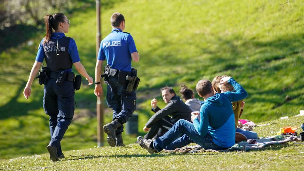 Polizei hatte wegen Ausflüglern einiges zu tun