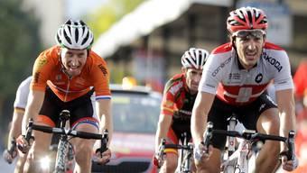 Cancellara fuhr mit 34 Sekunden Rückstand ins Ziel.