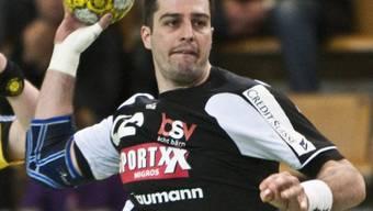 Sepp Schwander traf gegen Gummersbach dreimal ins Netz.