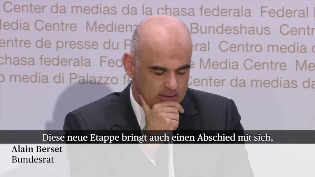 """Berset: """"Danke Herr Koch!"""""""
