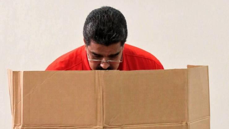 """""""Illegaler"""" Urnengang von Präsident Maduro: Mehrere südamerikanische Staaten wollen das Wahlergebnis in Venezuela unabhängig vom Ausgang nicht anerkennen."""