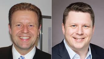 Markus Burri und Roman Dörig stehen für das Bezirksgericht Zurzach zur Wahl.