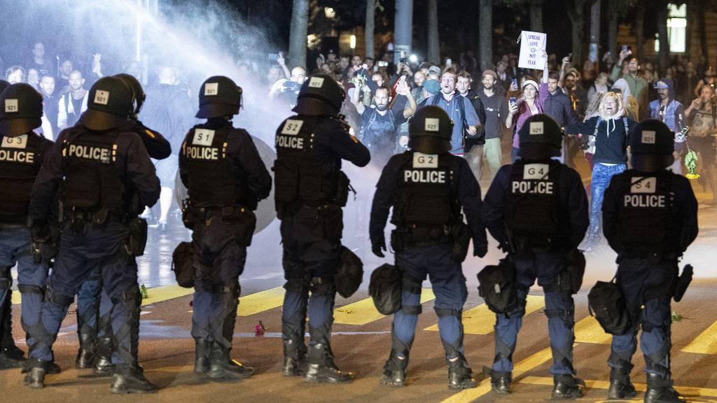 Demos sind Zusatzbelastung für Polizei