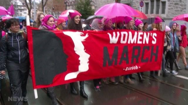 Mehr Gleichberechtigung und Solidarität für Frauen